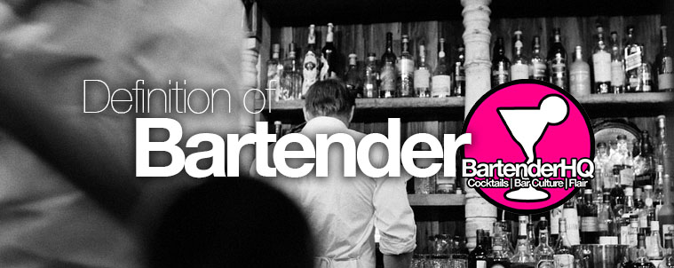 definition-of-bartender