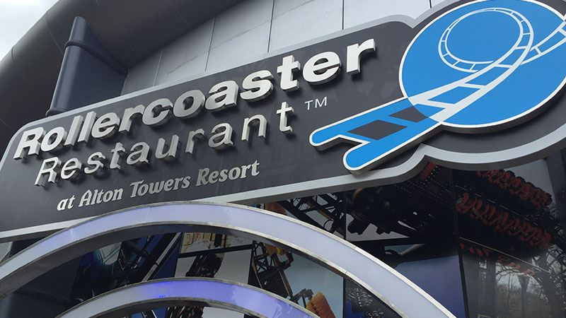 rollercoaster restaurant alton towers