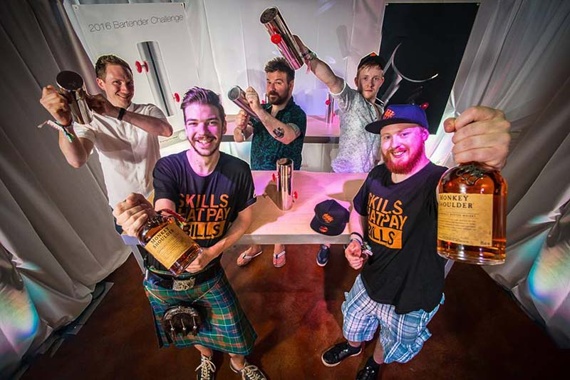 Monkey Shoulder UBC - UK finalists