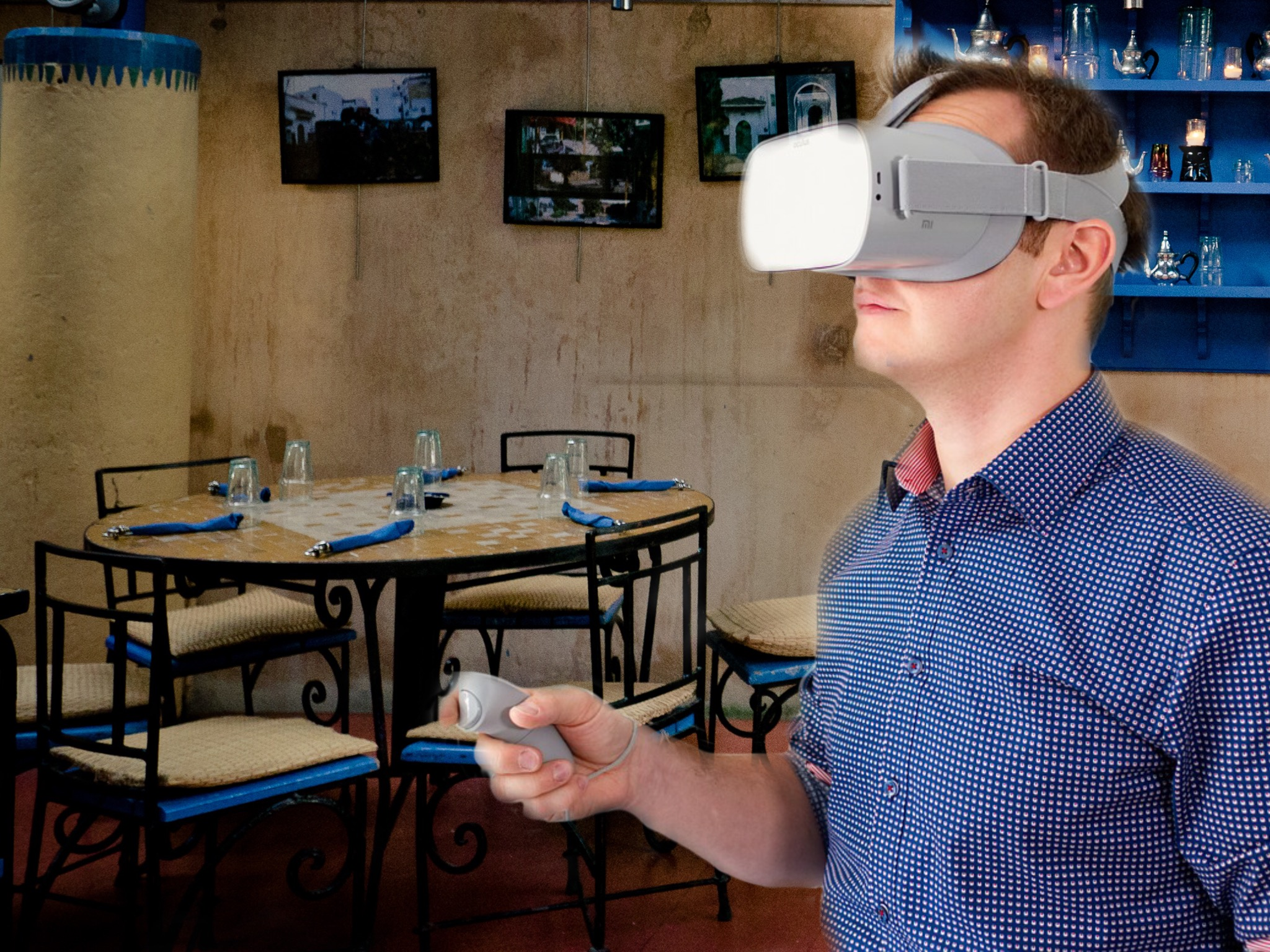Virtual Dinner Party VR Drinking